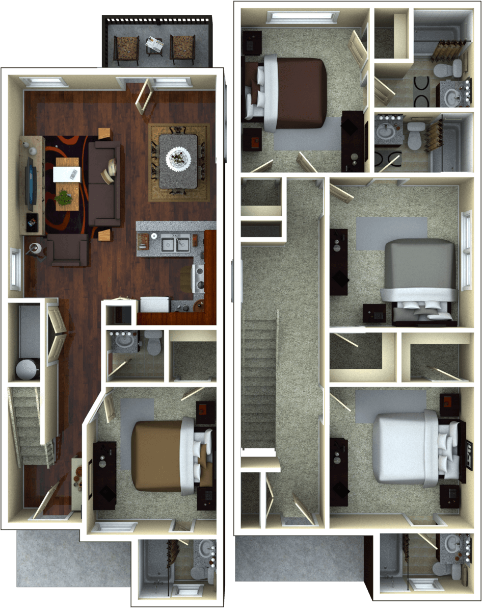 luxury 4 bedroom apartment floor plans. luxury 4 bedroom apartment