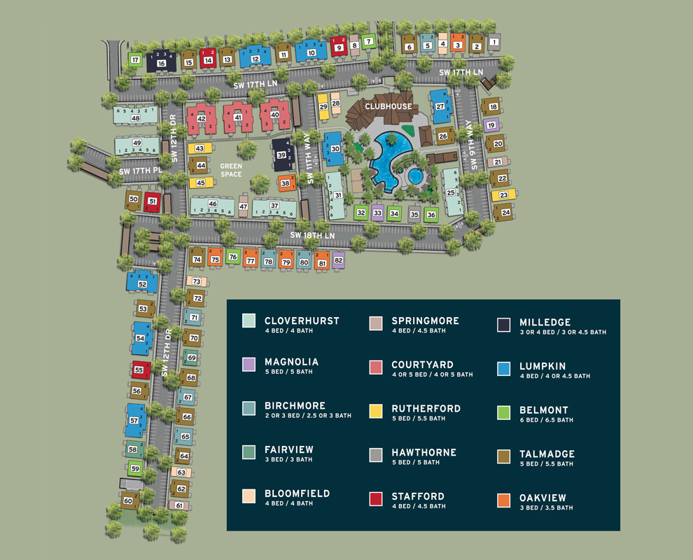 The Retreat Gainesville Site Plan